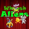 Aliens Whoosh logo