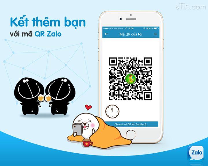 Bạn nào đã từng sử dụng tính năng QR code trên Zalo