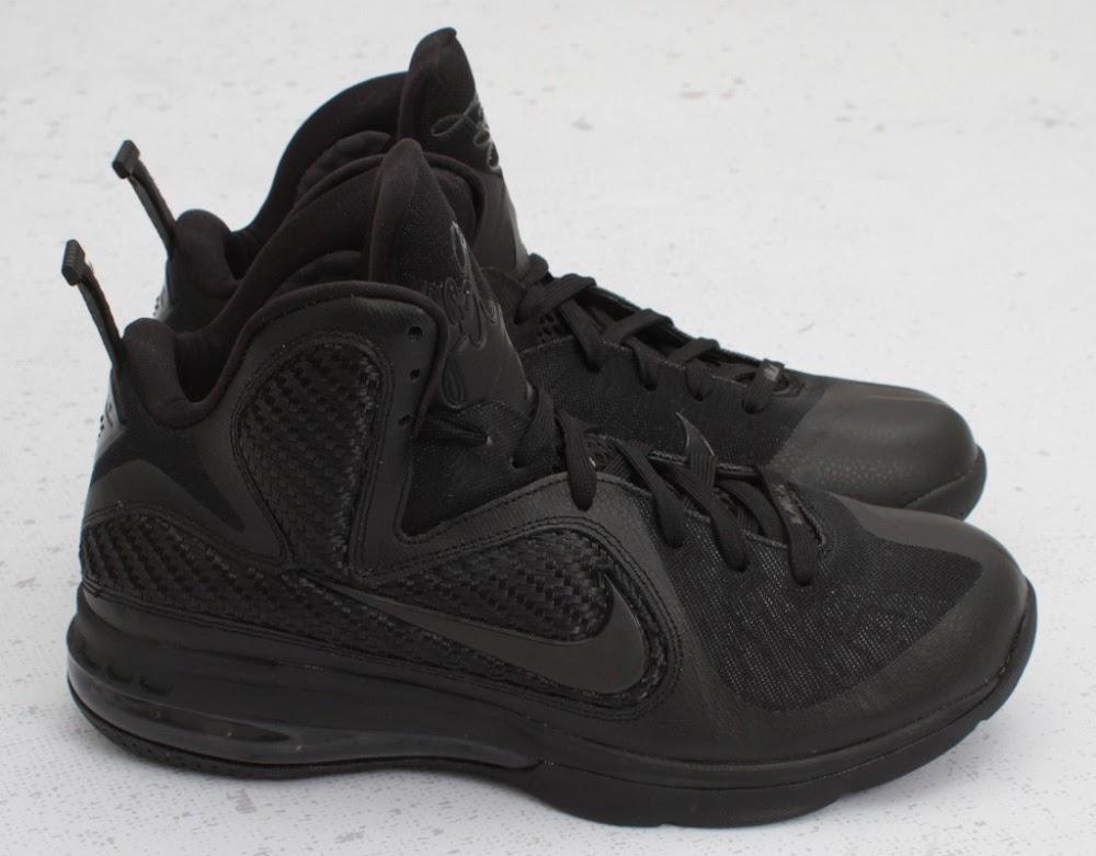60f8d36acb4f 469764-001 Black Black-Anthracite. Upcoming Nike LeBron 9 8220Triple  Black8221 8211 New Photos ...