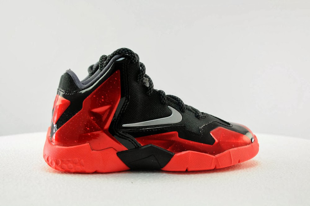low priced 83046 26399 ... Get Your Nike LeBron XI Away in Kids and Men8217s Sizes ...
