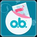 o.b.® kalender app icon