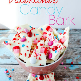 Valentine's Candy Bark