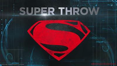 Superman's Super Throw BatmanvSuperman UltimateEdition