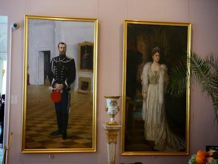 Tar Nicolae II si tarina Alexandra