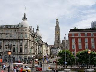 Anvers avec sa Cathédrale Notre-Dame