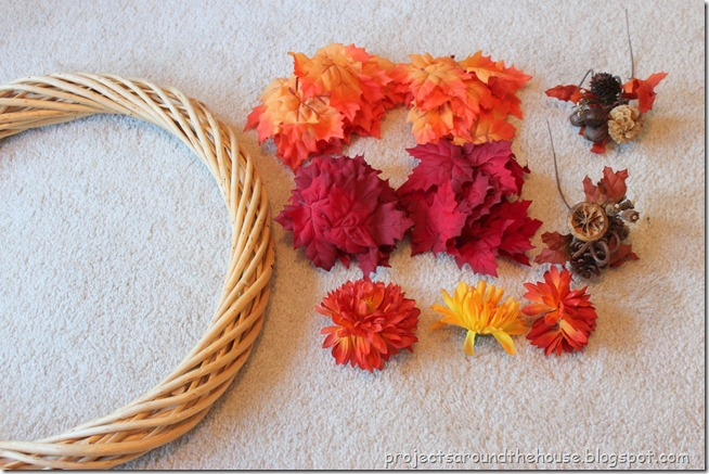 fall wreath supplies 1