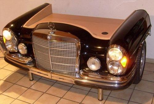 Retro Automotive | Car Couches | Car Chairs | Car Desks | Car Displays