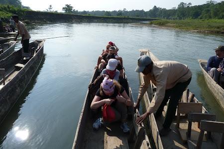 Canoe imbarcare jungla