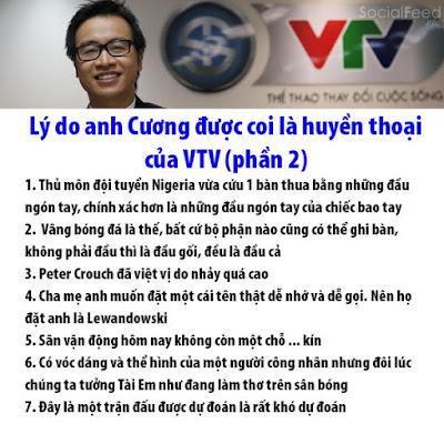 Lý do anh Cương được phong là BLV huyền thoại của VTV =