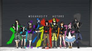 Mekakucity Actors  Hội Bịt Mắt