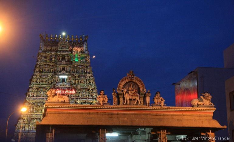 Kapaleeshwar Temple from flickr user VinothChandar