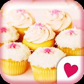 Cute wallpaper★petit cupcake