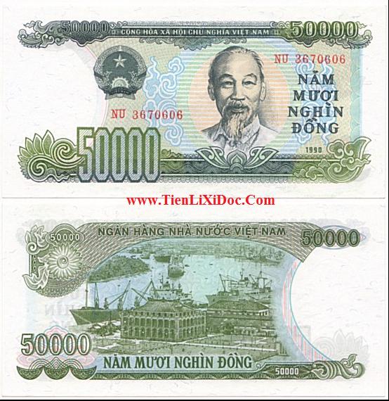 50.000 đồng 1990(Hiếm)
