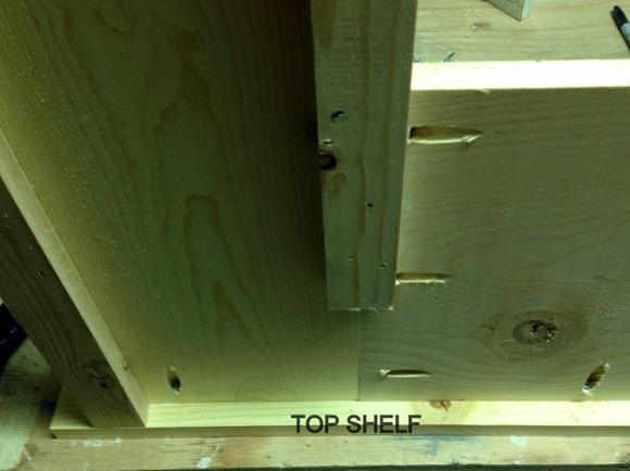 Pocket Holes to build a Mantel 5