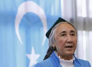 """Bà Rebiya Kadeer, Chủ tịch """"Quốc hội Duy Ngô Nhĩ toàn cầu"""""""