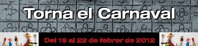 Programa Carnaval de #Barcelona 2012 (Un carnestoltes que reforça els barris, però que manté una rua al Paral·lel)