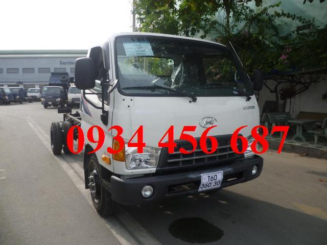 Xe Hyundai Đô thành 3,5 tấn nâng tải