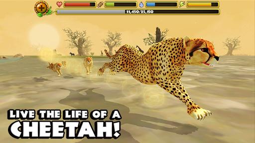 Cheetah Simulator для планшетов на Android