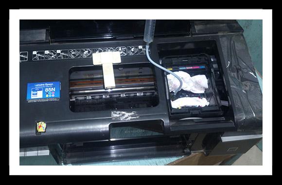 printer head block