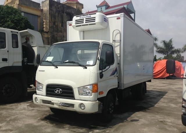 xe Hyundai hd72 đông lạnh