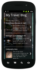 Blog Mobile Version