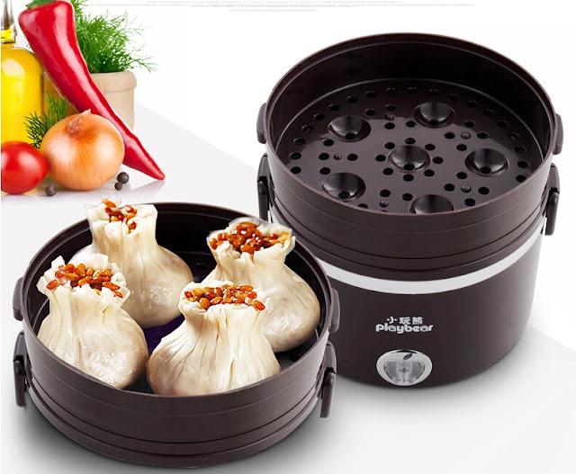 hộp cơm hâm nóng