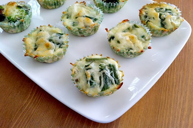 leftover-mini-green-bean-casserole-frittatas-recipe
