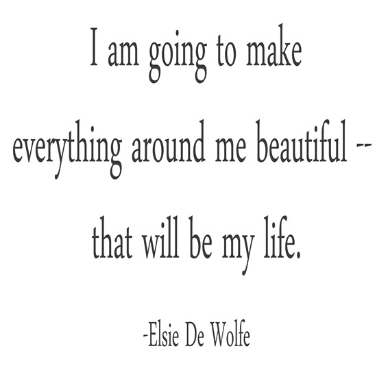 everything around me beautiful --wolfe