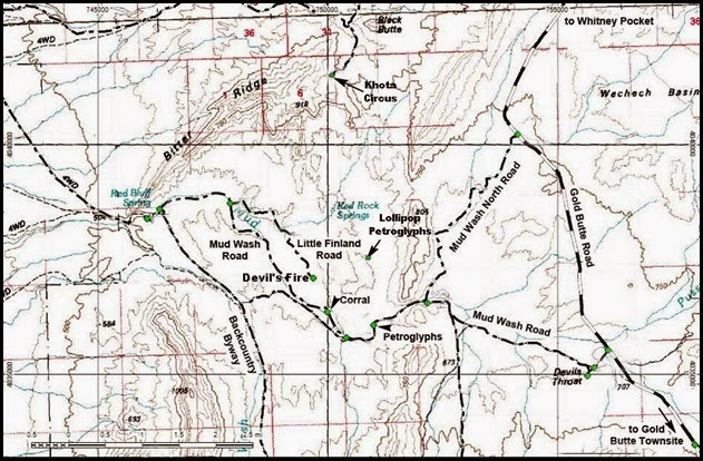 MAP-04-North Mud Wash Road