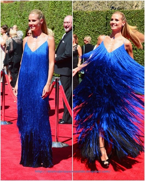 Heidi Klum attends the 2014 Creative Arts Emmy Awards3