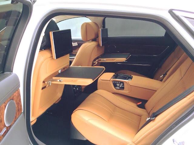 Nội thất xe Jaguar XJL Premium Luxury LWB 05