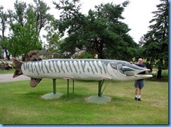 2669 Minnesota Hwy 2 East - Deer River Northern Pike Statue