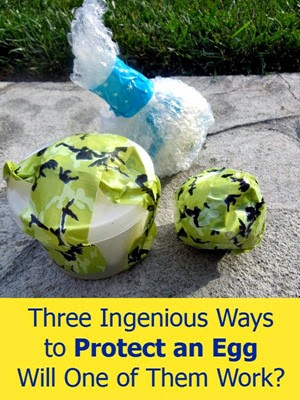 Protect an Egg in Three Different Ways