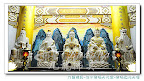 【淡水無極天元宮-真元天壇】第四層樓~白玉石雕刻而成的神尊~細膩溫暖呈現-北華帝君(水精子)東華帝君(木公)中華帝君(黃老)西華聖母(西方金母)南華帝君(赤精子)