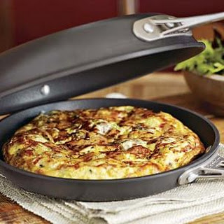 Tre Formaggi Frittata with Sausage