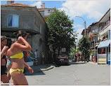 Улица Крайбережна. Поморие. Болгария. www.timeteka.ru