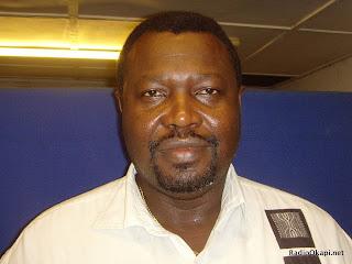Hubert Efole, secre?taire ge?ne?ral du Rassemblement Congolais pour la De?mocratie (RCD), parti membre de l'opposition RDC. Radio Okapi