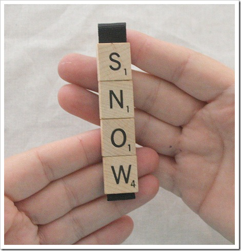 scrabble ornament 12