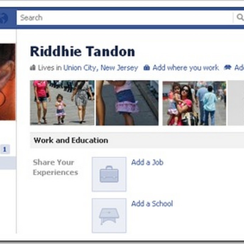 Riddhie gets a FB Profile