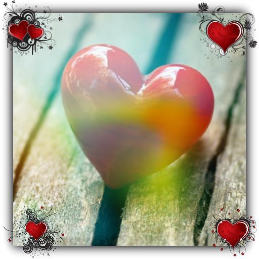 Heart HD Live Wallpaper 娛樂 App LOGO-APP試玩