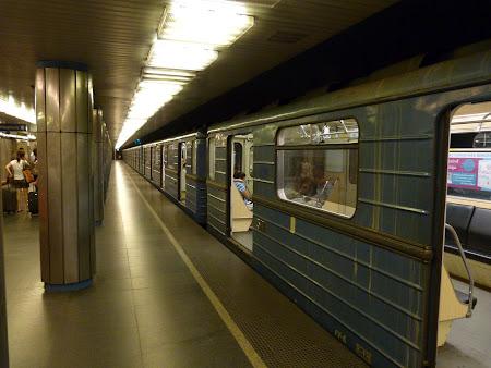 Obiective turistice Ungaria: Metrou Budapesta