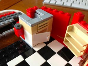 LEGO: 10220 Volkswagen T1 Camper Van [その2]