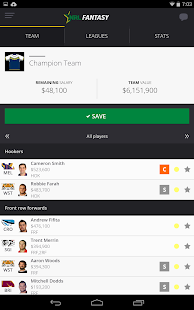NRL Fantasy- screenshot thumbnail