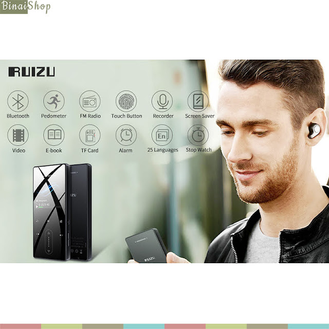 Ruizu D22 - Máy Nghe Nhạc Lossless