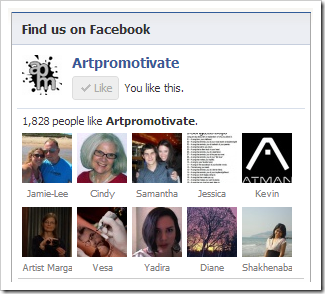 artpromotivate facebook page