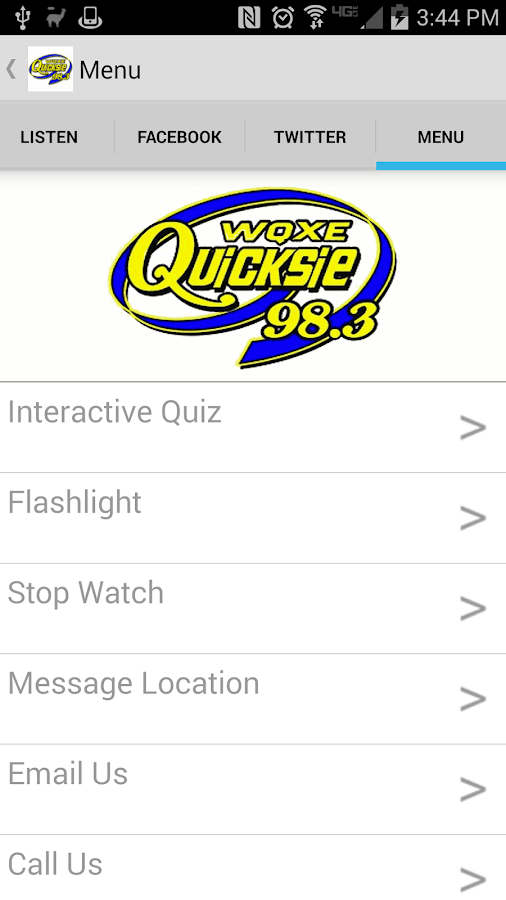 Quicksie 98.3- screenshot
