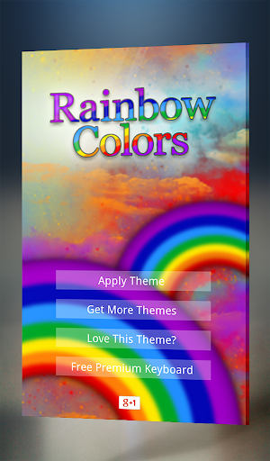 Rainbow colors Keyboard