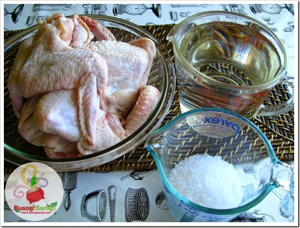 MOMOFUKU CHICKEN BRINING INGREDIENTS © BUSOG! SARAP! 2010