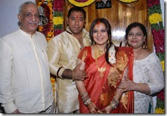 Actress Pooja Gandhi Engagement Photos