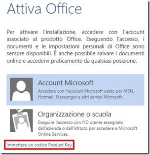 Attivare Microsoft Office Professional Plus 2013